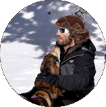 Musher Chien de traineau Vercors Alex Bringard